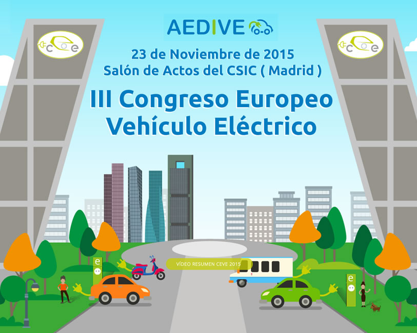 Congreso Europeo Vehículo Eléctrico 2015